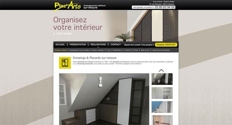 ancien site internet Plac'Arts