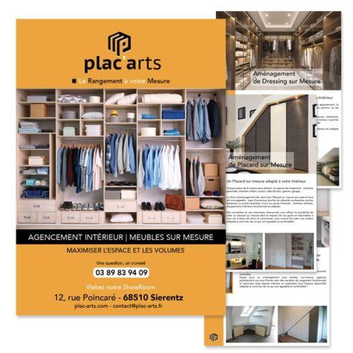 Mise en Place d'une Brochure à télécharger sur le site