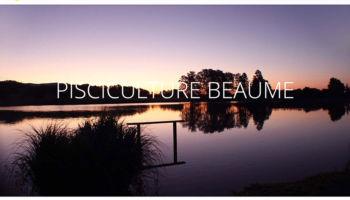 Site Internet de la Pisciculture Beaume à Chaux - secteur commerce de gros