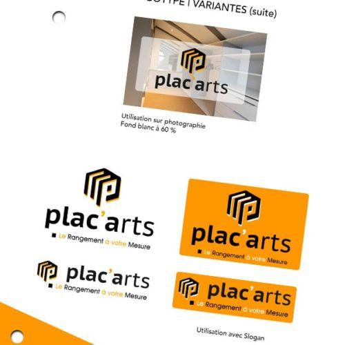 Création de la Charte graphique Plac'Arts