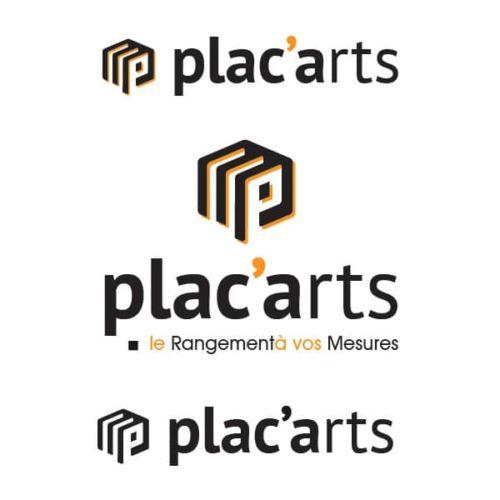 Création du nouveau logo Plac'Arts