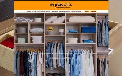 Site Internet de la société Plac'Arts à Sierentz