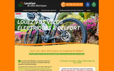 Site Internet de Location de Vélos électriques à Belfort